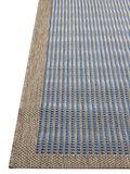 Blauw Outdoor en indoor vloerkleed, karpet en tapijt Palma_