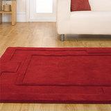 rood vloerkleed