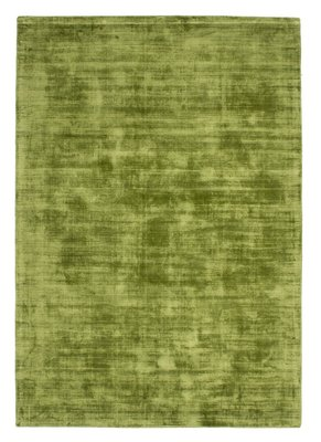Handgemaakt vloerkleed Rajaa 230 Groen