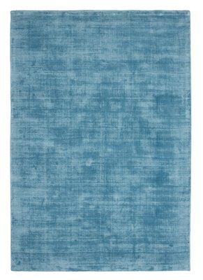 Handgemaakt tapijt Rajaa 230 Turquoise