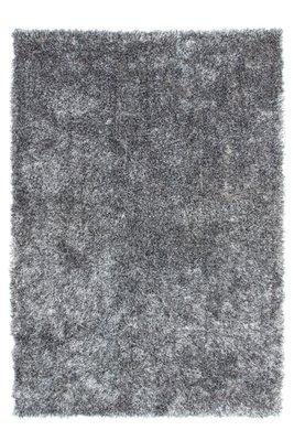 Hoogpolig vloerkleed grijs Diadeem