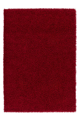 Rood hoogpolig karpet Nord Rood