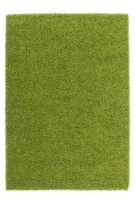 Groen hoogpolig tapijt Nord Groen