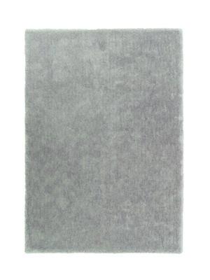 Grijs zacht hoogpolig vloerkleed Granta 160004