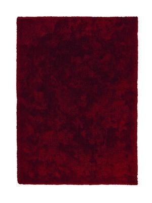 Rood hoogpolig vloerkleed Granta 160010