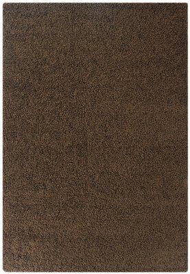 Bruin hoogpolig vloerkleed Calys 170