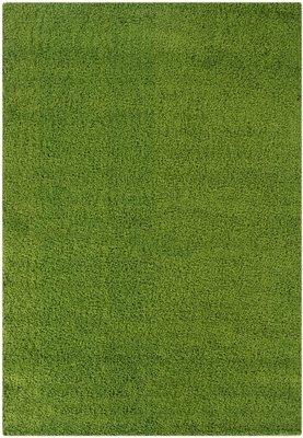 Groen hoogpolig vloerkleed  Calys 170