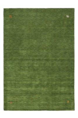 Handgemaakt wollen vloerkleed Belma Groen