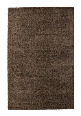 Hoogpolige vloerkleden en karpetten Nias 1200 donker Bruin