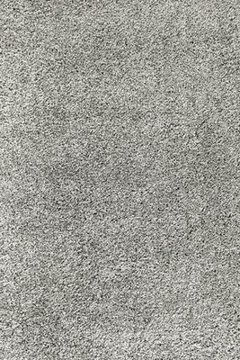 Effen hoogpolig vloerkleed grijs Adriana Shaggy  1500/AY