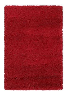 Rood hoogpolig vloerkleed Ontario 630