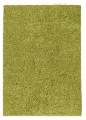 Hoogpolig vloerkleed groen Alabama 650