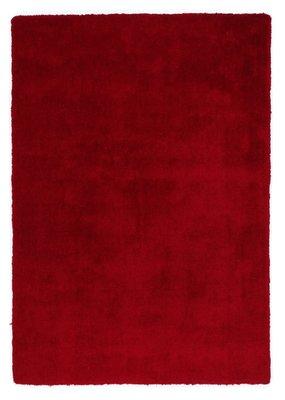 Hoogpolig rood vloerkleed Alabama 630 Rood