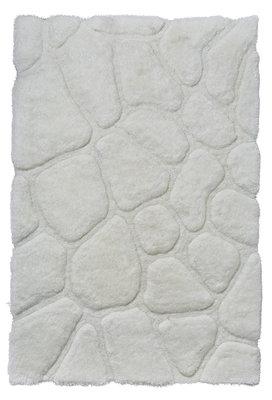 Bolcom vloerkleed kleur creme wit NH5858