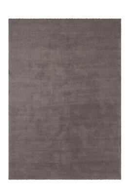 Kortpolig effen vloerkleed Valloto 400 kleur Taupe