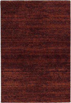 Effen vloerkleed Soraja kleur rood 150/010
