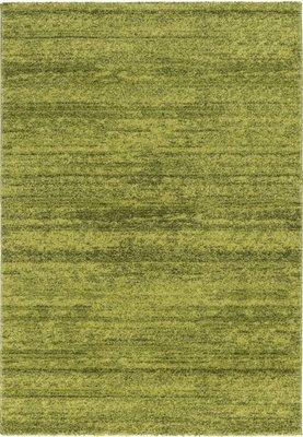 Effen vloerkleed Soraja kleur groen 150/030