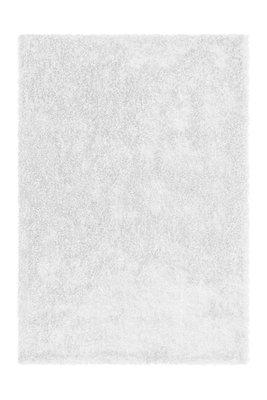 Handgemaakt hoogpolig vloerkleed Brasil Wit