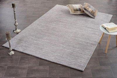 grijs gemeleerd vloerkleed