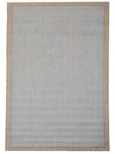 Blauw Outdoor en indoor vloerkleed, karpet en tapijt Palma