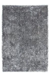Hoogpolig vloerkleed Belmar grijs